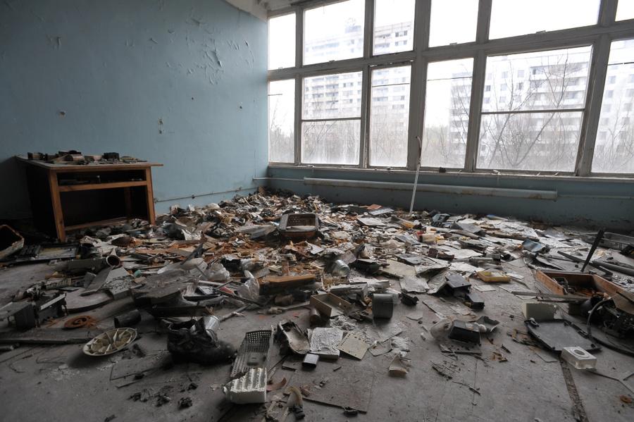 Здание ГПТУ № 8 в Примяти. Фото: Игорь Хомич
