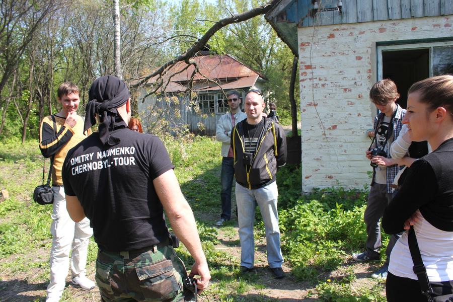Экскурсия в Зону. Фото: Дмитрий Науменко