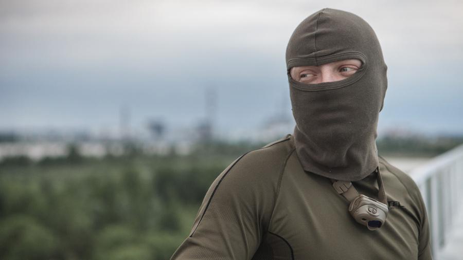 Дмитрий Науменко во время нелегальных походов в Зону